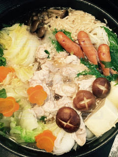 食べ物,家,美味しそう,野菜,鍋,肉,料理,熱々,熱い,鍋料理,ウィンナー,あったかお鍋