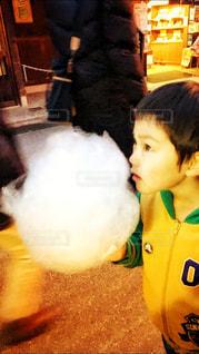 大きな綿菓子の写真・画像素材[871367]