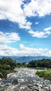 綺麗な川と空!の写真・画像素材[948517]