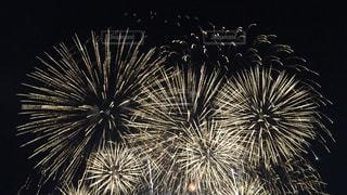 空に花火の写真・画像素材[1312316]