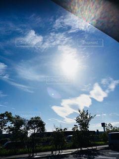 秋の雲の写真・画像素材[785348]
