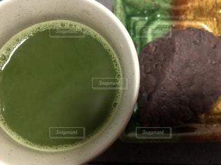 抹茶,緑茶,日本茶,おはぎ