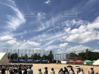 おだやかな秋の日の体育祭。の写真・画像素材[790442]
