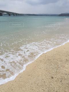 海,屋外,雲,砂浜,青い海,沖縄,旅行