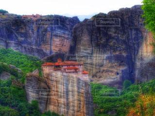 岩の上の修道院 - No.794856