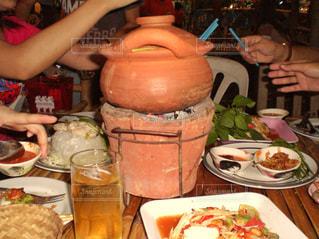 ちょっぴり辛いタイの鍋の写真・画像素材[798789]