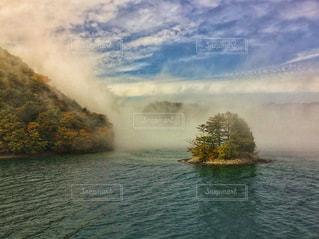 霧の中禅寺湖 - No.799740