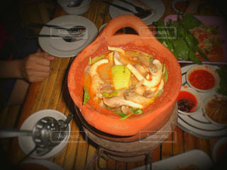 イサーンの鍋料理の写真・画像素材[807451]