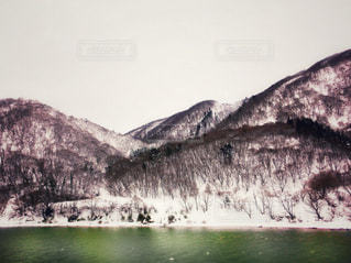 冬の最上川 - No.813503
