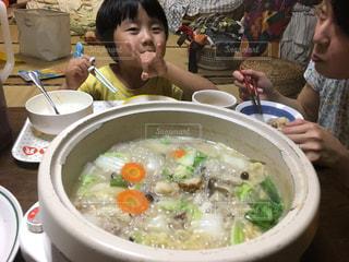 家族,子供,鍋