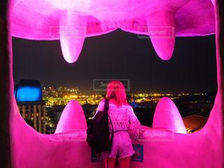 ピンクのドレスの人 - No.847199
