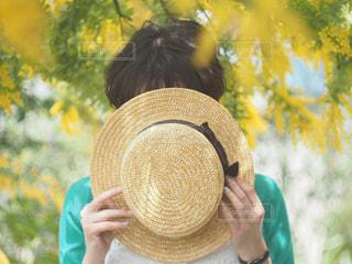 女性,春,カメラ,帽子,女の子,人物,人,snapmart構図コンテスト
