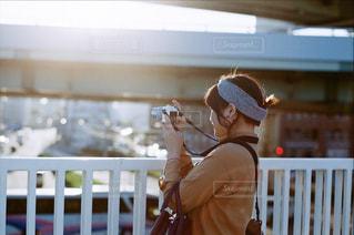 カメラ友達の写真・画像素材[1261024]