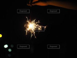 空に花火の写真・画像素材[1322077]