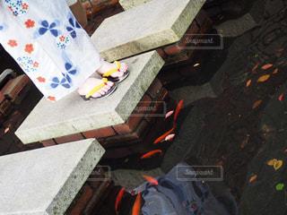 花火大会にての写真・画像素材[1409065]