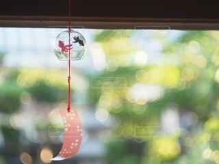 お気に入りの風鈴の写真・画像素材[4678475]