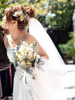 素敵な花嫁さんの写真・画像素材[806267]