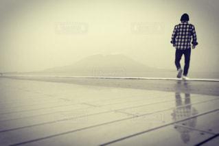 桜島とおれの写真・画像素材[1023436]