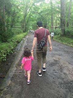 父の歩幅でハイキングは疲れるわ〜 - No.790739