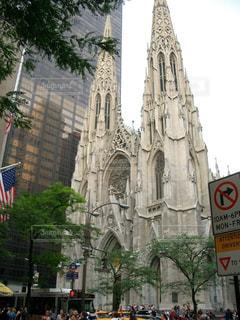 ニューヨークの教会の写真・画像素材[998782]