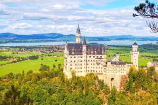 シンデレラ城のモデルになったノイシュヴァンシュタイン城♡の写真・画像素材[3185741]