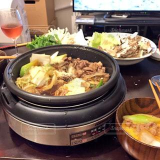 食べ物,屋内,皿,すき焼き,スキヤキ,Sukiyaki