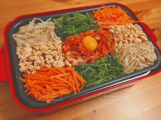 皿のご飯肉と野菜料理の写真・画像素材[789279]