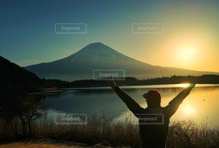 風景,空,富士山,絶景,朝日,綺麗,景色,朝焼け,旅行,旅,インスタ映え