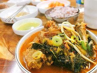 韓国のキムチスープの写真・画像素材[807214]