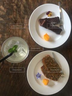 女子会には可愛いケーキをの写真・画像素材[867015]