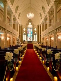 クリスマスの教会の写真・画像素材[937110]