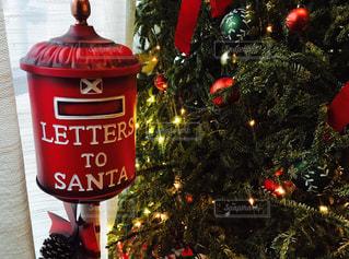 屋外,アメリカ,手紙,樹木,クリスマス,ポスト,サンタクロース,サンタ,USA,郵便受け,サンタさん,Christmas,Xmas,フォトジェニック,インスタ映え
