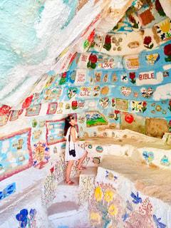 カメラ女子,LOVE,海外,カラフル,アート,アメリカ,女子,鮮やか,女の子,外国,旅行,装飾,女子旅,art,虹色,塗装,サルベーションマウンテン,クリスチャン,インスタ映え,salvation mountain