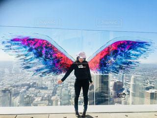 ロサンゼルスの天使のはねの写真・画像素材[1028529]