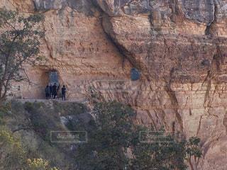 背景の山と渓谷の写真・画像素材[791603]