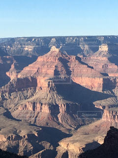 背景の山と渓谷の写真・画像素材[791606]