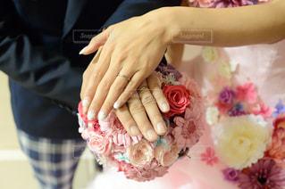 結婚式当日の写真・画像素材[812241]
