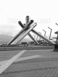 オリンピック聖火台の写真・画像素材[813228]