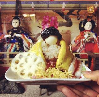 ひなまつりの晩ご飯の写真・画像素材[802043]