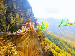 タクツァン僧院の写真・画像素材[814851]