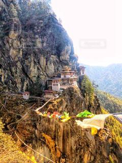 タクツァン僧院の写真・画像素材[814973]