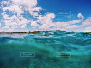 海の横にある水します。の写真・画像素材[1137352]