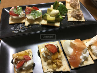 料理の種類でいっぱいのボックスの写真・画像素材[794896]
