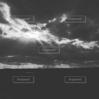 モノクロ風景の写真・画像素材[815573]