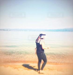 砂浜の写真・画像素材[1393763]