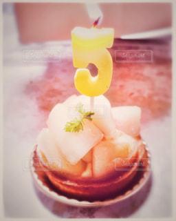誕生日ケーキの写真・画像素材[1825336]