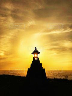 夕日の写真・画像素材[2858868]