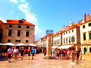 クロアチア ドゥブロヴニク旧市街の写真・画像素材[824100]