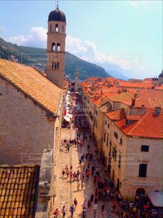 クロアチア ドゥブロヴニク旧市街 - No.824122