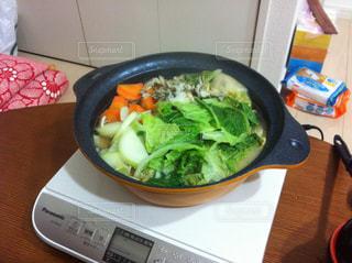 鍋,水炊き,野菜たっぷり